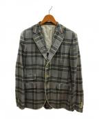 BOGLIOLI(ボリオリ)の古着「3Bジャケット」 グレー