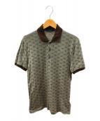 GUCCI(グッチ)の古着「GG柄ポロシャツ」|ブラウン