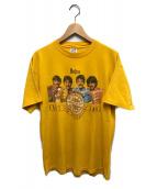 ()の古着「90'sヴィンテージプリントTシャツ」|イエロー