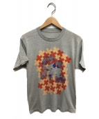 ()の古着「80sヴィンテージプリントTシャツ」|グレー