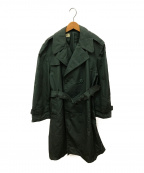 US ARMY(ユーエスアーミー)の古着「ナイロントレンチコート」|カーキ