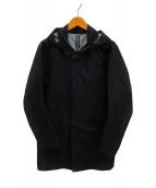 ()の古着「パーティションLTコート」|ブラック