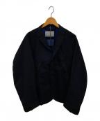 KOLOR()の古着「ハイブリッドジャケット」|ネイビー
