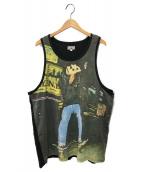 Supreme × Bill Thomas(シュプリーム × ビル トーマス)の古着「スケーターフォトタンクトップ」|ブラック
