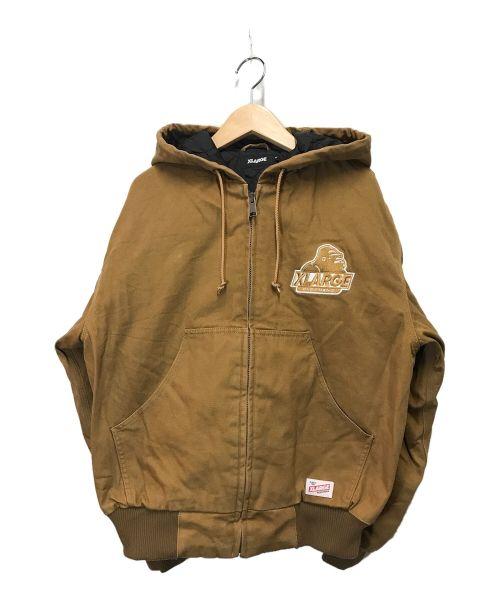 X-LARGE(エクストララージ)X-LARGE (エクストララージ) アクティブジャケット ブラウン サイズ:Sの古着・服飾アイテム