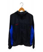 ()の古着「スプラッシュフーデッドジャケット」 ブラック