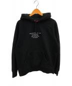 ()の古着「HQ フーデッド スウェットシャツ」|ブラック