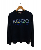 KENZO(ケンゾー)の古着「クルーネックスウェット」|ネイビー