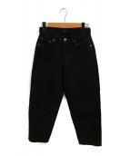 leno(リノ)の古着「テーパードパンツ」|ブラック