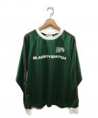 THE BLACK EYE PATCH(ザブラックアイパッチ)の古着「Tシャツ」 グリーン
