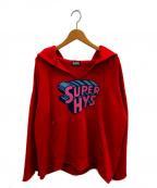 Hysteric Glamour()の古着「SUPER HYSパーカー」|レッド