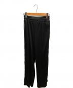 DIESEL(ディーゼル)の古着「サイドスナップライントラックパンツ」|ブラック