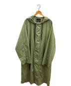 CONCEPTS D' ODEUR(コンセプト オデュール)の古着「ナイロンモッズコート」|カーキ