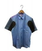 COMME des GARCONS SHIRT(コムデギャルソンシャツ)の古着「半袖シャツ」 ブラウン
