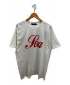 WIND AND SEA(ウィンダンシー)の古着「グリッターTシャツ」|ホワイト
