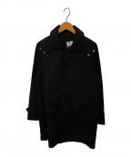 SANYO(サンヨー)の古着「撥水ナイロン2WAYコート」|ブラック