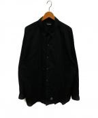 MASSES(マシス)の古着「オーバーサイズシャツ」|ブラック