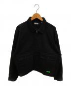 WILLY CHAVARRIA(ウィリーチャバリア)の古着「カグマジャケット」 ブラック
