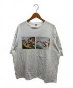 TIGHTBOOTH PRODUCTION(タイトブースプロダクション)の古着「パスザパイTシャツ」|ホワイト