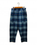 PHINGERIN(フィンガリン)の古着「サックスナイトパンツ」|ブルー