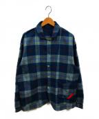 PHINGERIN(フィンガリン)の古着「サックスナイトシャツ」|ブルー