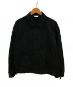 WELLDER(ウェルダー)の古着「ドローストリングコーチジャケット」 ブラック