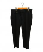 uniform experiment(ユニフォームエクスペリメント)の古着「ストレッチスリムフィットスラックス」|ブラック