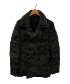 AKM(エーケーエム)の古着「ダウンPコート」 グレー