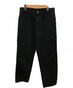 Carhartt WIP(カーハートダブリューアイピー)の古着「シングルニーパンツ」 ブラック
