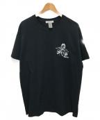flagstuff()の古着「プリントTシャツ」|ブラック