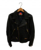 blackmeans(ブラックミーンズ)の古着「ライダースジャケット」|ブラック