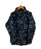 US NAVY(ユーエスネイビー)の古着「エクストラコールドウェザーゴアテクスジャケット」|ネイビー