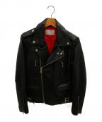 URBAN RESEARCH(アーバンリサーチ)の古着「ダブルライダースジャケット」|ブラック