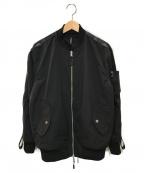 STAMPD(スタンプド)の古着「リバーシブルユーティリティボンバージャケット」|ブラック