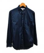 COMME des GARCONS SHIRT()の古着「ベーシックBDシャツ」 ネイビー
