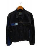 ()の古着「再構築デニムジャケット」|インディゴ