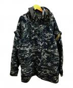 US NAVY(ユーエスネイビー)の古着「08sカモジャケットゴアパーカー」|グレー
