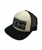 CHROME HEARTS(クロムハーツ)の古着「ベースボールキャップ」|ホワイト×ブラック