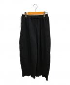 KANATA(カナタ)の古着「クラシックヒダパンツ」 ブラック