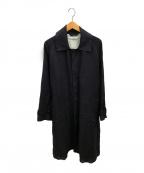 saby(サバイ)の古着「リネンタイプ01コート」 ブラック