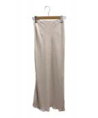 ()の古着「ペンシルフレアスカート」|ピンク