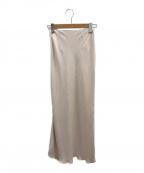 TODAYFUL(トゥデイフル)の古着「ペンシルフレアスカート」 ピンク