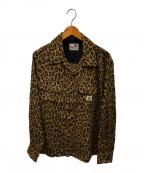 GANGSTERVILLE(ギャングスタービル)の古着「レーヨンチリメンシャツ」|ベージュ