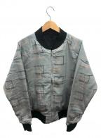 GANGSTERVILLE(ギャングスタービル)の古着「メンフィスリバーシブルジャケット」|グレー