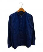BY GLAD HAND(バイ グラッドハンド)の古着「グッドファザーロングスリーブシャツ」|インディゴ