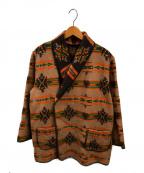 GANGSTERVILLE(ギャングスタービル)の古着「スピリットハートジャケット」|ベージュ