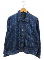 BY GLAD HAND(バイ グラッドハンド)の古着「ハートランドジャケット」|インディゴ