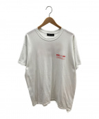 WIND AND SEA(ウィンダンシー)の古着「ロゴTシャツ」|ホワイト