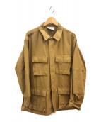 ()の古着「BDUジャケット」 ベージュ