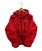 POLEWARDS(ポールワーズ)の古着「アルパインピークズDFジャケット」|レッド